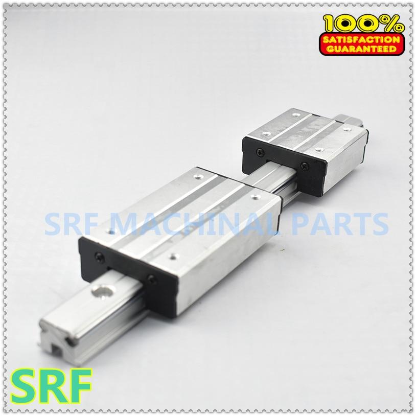 1pcs Aluminum Square Roller Linear Guide Rail LGD8 L=1000mm +1pcs LGD8 block л и дворкин о л дворкин расчетное прогнозирование свойств и проектирование составов бетонов