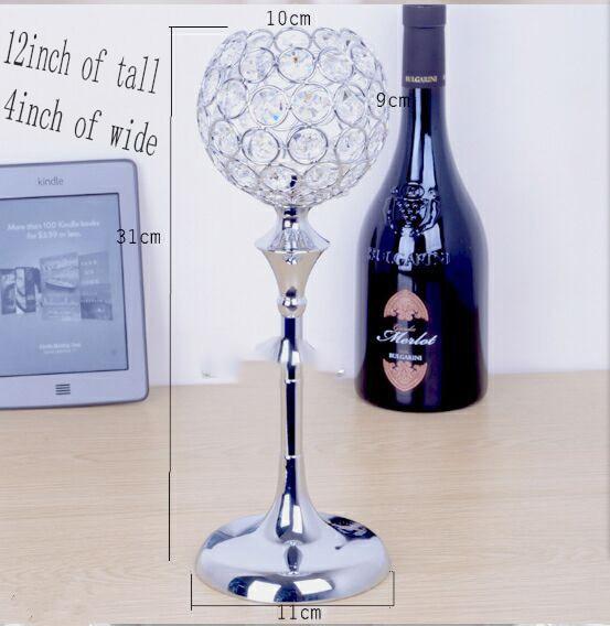 20 unidslote envo gratis glass crystal 12 de altura x4