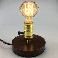 Новый дизайн E27 40 W 110 V алмаз Вольфрам лампа накаливания Эдисон свет Ретро лампа накаливания (Эдисона)