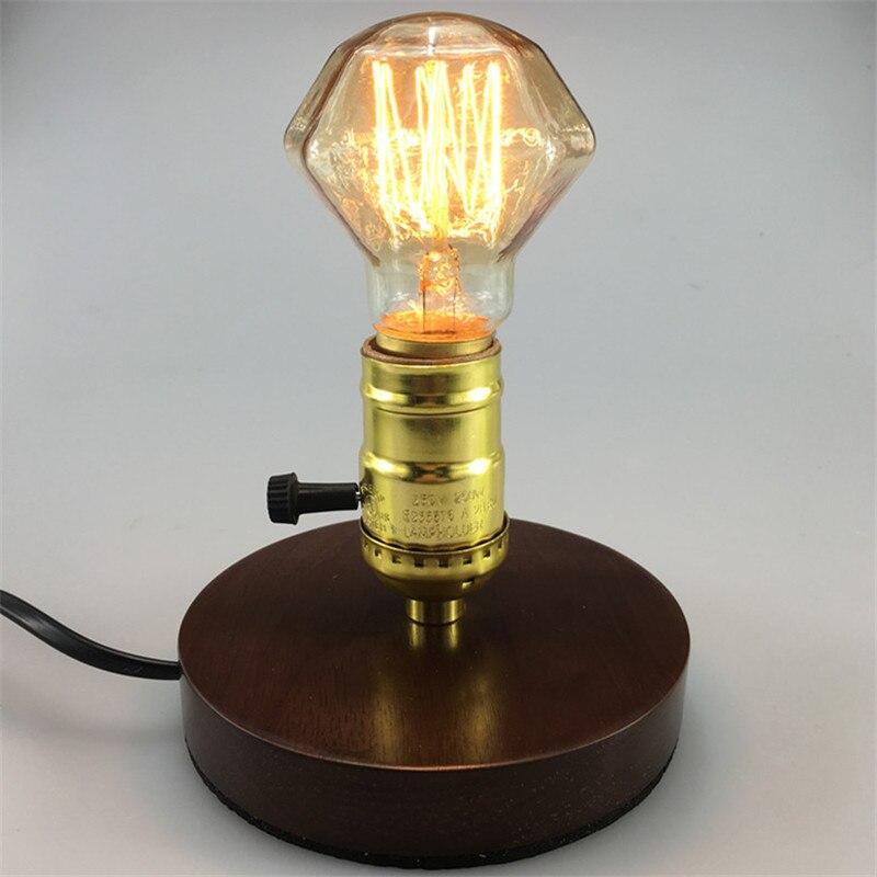 New Design E27 40W 110V Diamond Tungsten Incandescent Bulb Edison Light Retro Lamp Incandescent Edison Bulb