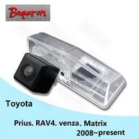 BOQUERON for Toyota Prius RAV4 RAV4 venza Matrix 2008~2015 SONY Waterproof HD CCD Car Camera Reversing Reverse rear view camera