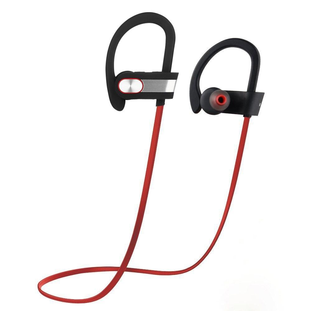 Q7 Bluetooth Kopfhörer, IPX6 wasserdichte CSR8635 chip drahtlose Sport kopfhörer bass kopfhörer für Telefon Pad xiaomi, 8 Stunden arbeits