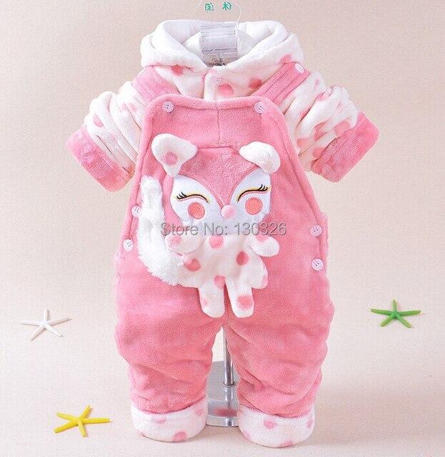 fe31f7fb5e767 Venta caliente envío gratis bebé recién nacido ropa de invierno ropa para  bebés varones monos acolchados
