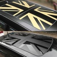 Sunroof Union Jack Roof Window Film Vinyl Sunshade Sticker Decal For MINI Cooper JCW S One F54 F55 F56 F60 R55 Car Accessories