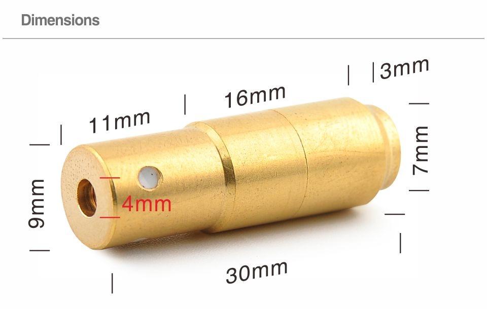 3rd Laser Bullet LTB380