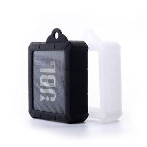 Image 1 - ใหม่ทนทาน Anti   knock ซิลิโคนใส่กระเป๋ากระเป๋าสำหรับ JBL GO 2 GO2 บลูทูธแบบพกพากันน้ำลำโพง