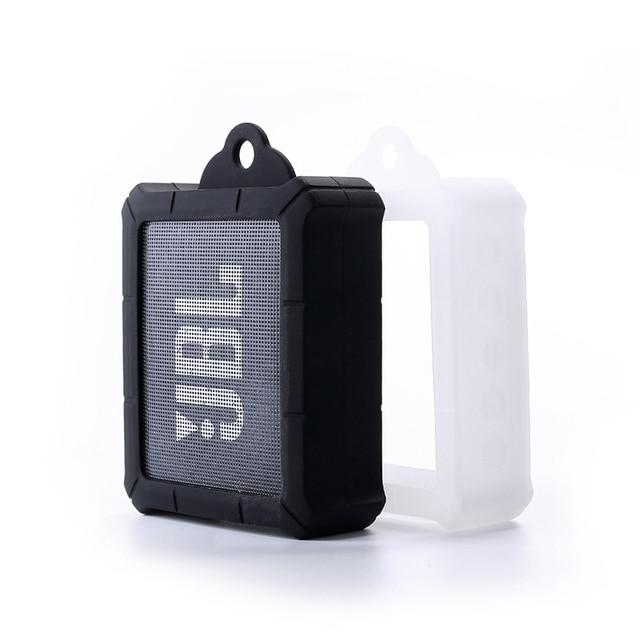 ใหม่ทนทาน Anti   knock ซิลิโคนใส่กระเป๋ากระเป๋าสำหรับ JBL GO 2 GO2 บลูทูธแบบพกพากันน้ำลำโพง