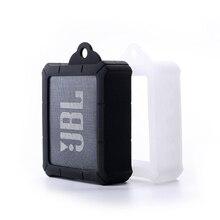 最新の耐久性のあるアンチノックシリコーンカバースリーブバッグポーチケース Jbl 行く 2 GO2 ポータブル Bluetooth 防水スピーカー