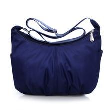 Высокое качество, модные женские водонепроницаемые нейлоновые сумки-мессенджеры, женские сумки через плечо, женские сумки
