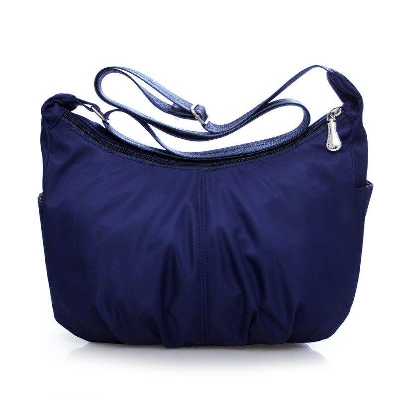 2018 hot sell high quality fashion women Waterproof Nylon Messenger Bags Female Crossbody Shoulder Bags Ladies Handbags