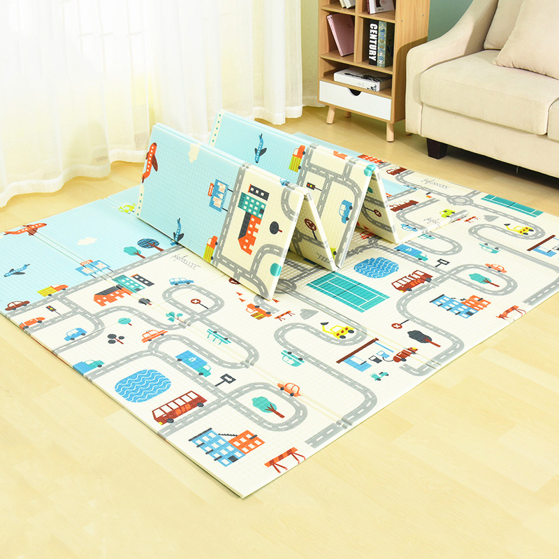 Infant Shining Children's Rug Baby Play Mat Puzzle Soft Mat Big Size 180*200*1cm Thickened Kids Rug Game Pad Playmat for Infants infant shining baby play mat xpe carpet thickening toy crawling puzzle mat 200 180 2cm kids mat for infants play mat gym