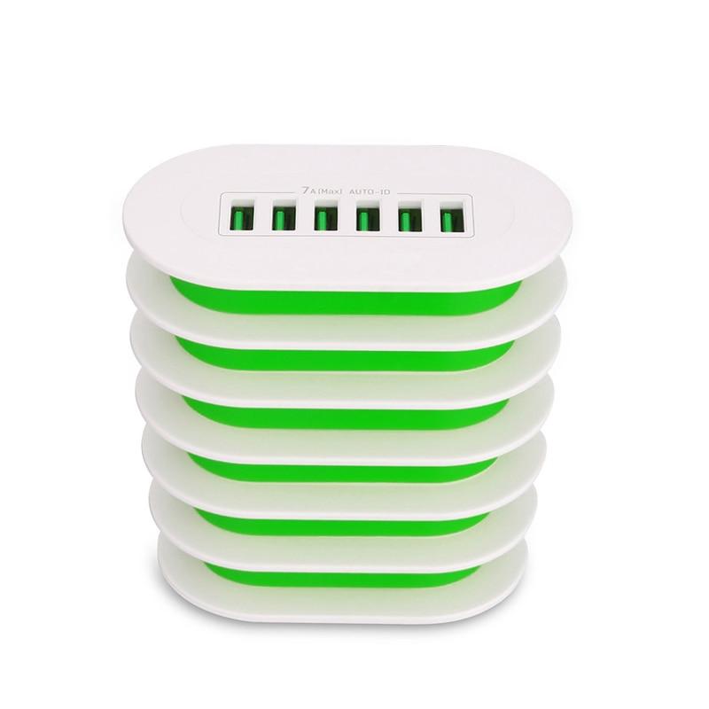 INGMAYA Multi Port USB Ladegerät 35W 6 Halter Ladestation Für - Handy-Zubehör und Ersatzteile