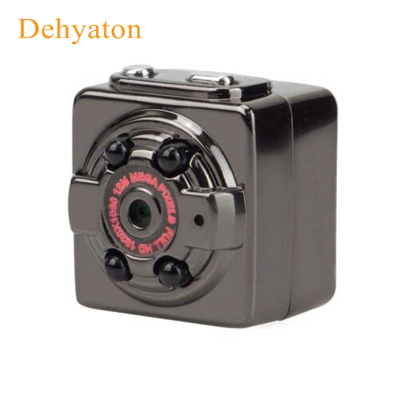 Dehyaton 1080P HD Mini Camera 12MP Infrared Night Vision Nanny Digital Micro Cam Motion Detection Sensor Camcordor Record Helmet
