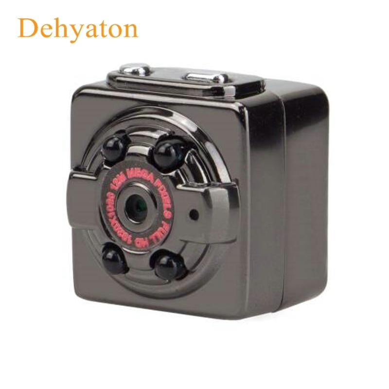 Dehyaton 1080P HD Mini Camera 12MP Infrared Night Vision Nanny Digital Micro Cam Motion Detection Sensor Camcordor Record Helmet