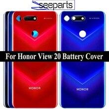 """6.4 """"nowa tylna pokrywa Huawei Honor View 20 tylna pokrywa baterii drzwi tylna obudowa Case Honor V20 pokrywa baterii pokrywa baterii"""