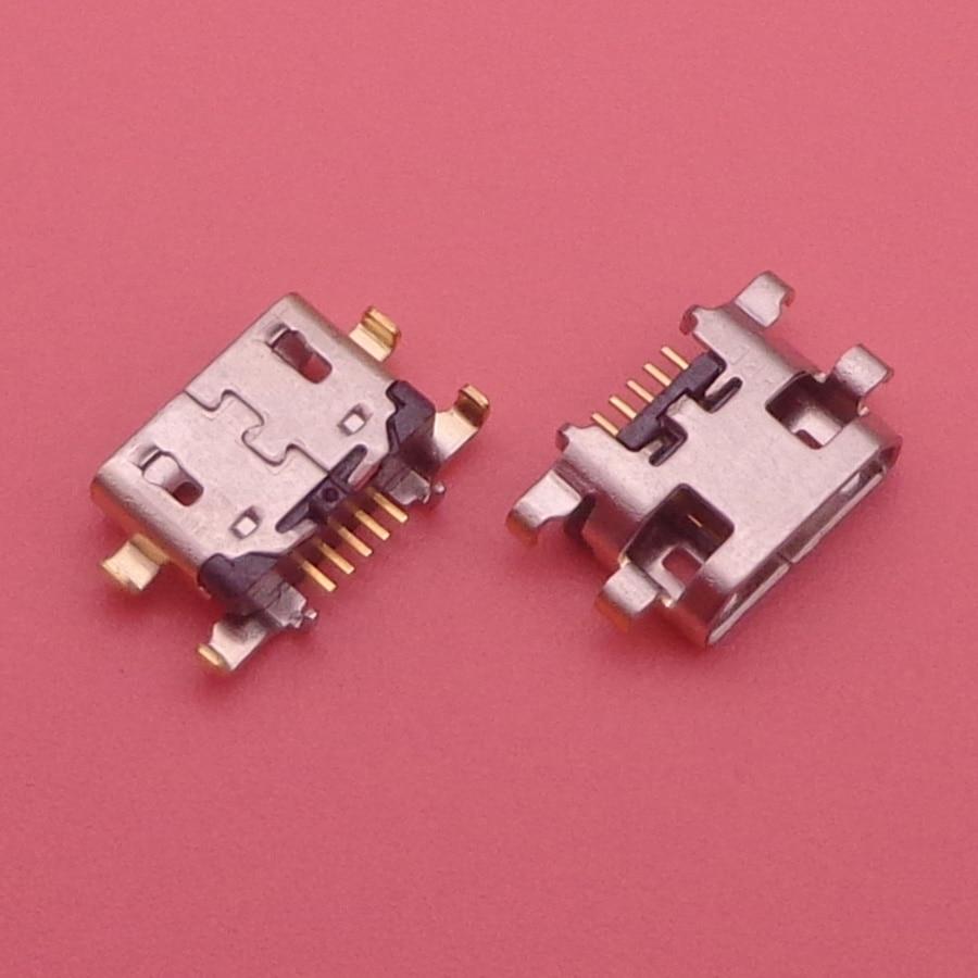 10pcs Micro Mini USB Jack Socket Charging Port Dock Replacement Connector For Lenovo Vibe A7020 K52t38 K52e78 K5 Note