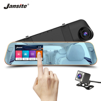 Jansite Car Camera Touchscreen Car Dvr Review Mirror Dashcam Digital Video Recorder Auto Registrator Camcorder FHD 1080P Camera