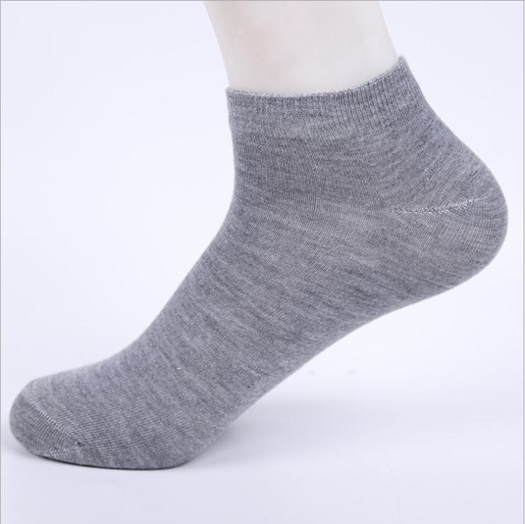 Mens Womens TRAINER SOCKS INVISIBLE White Black Ankle Liner Cotton Sport No Show