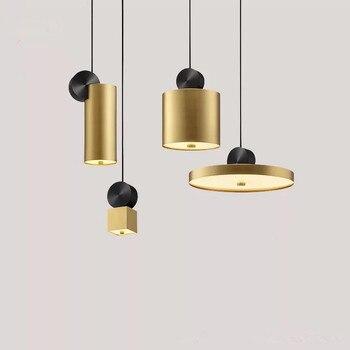 Nordic Led Pendant Lamp Modern Hanging Light Fixtures Dining Room Bedroom Coffee Shop Chandelier Lighting Loft Lustre Suspension