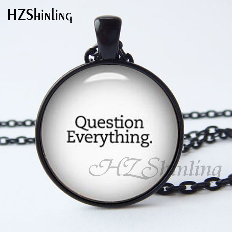 Aliexpress Buy Question Everything Pendant Philosophy Pendant