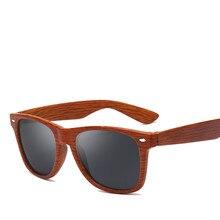 Fake Wood Bamboo Colors Sunglasses for Men Women Spectacles Vintage Sun glasses Male Wooden Legs Glasses