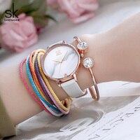 Shengke 창조적 인 여성 시계 럭셔리