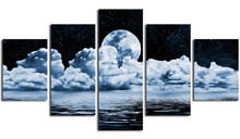 2017 NEW Unframed 5 Panels  Canvas Print Painting Modern Wall Art for Picture Home Decor Artwork NEW-HOT-01