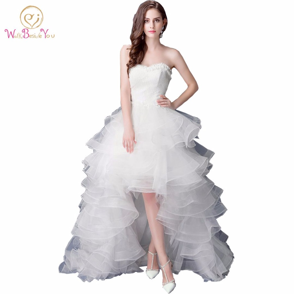 Compare Prices on Plus Size Wedding Dress Short Front Long Back