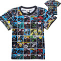 Short Sleeve t shirt Children Batman Superman Movies Printing Boys Clothes T-Shirts For Boys girls Kids Baby Children's Clothing