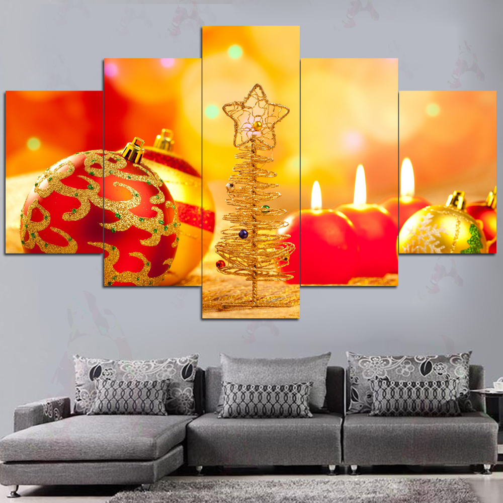 Generous Wall Christmas Decorations Photos - The Wall Art ...