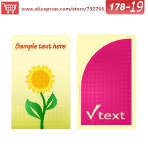 0178-19 business card template for papercard factory card business business cards online free