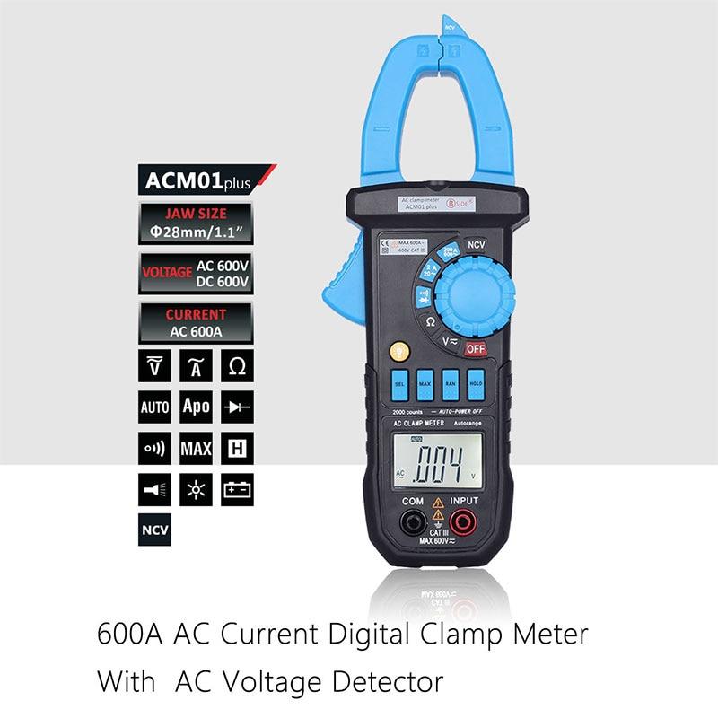 Practical Alternating LCD Clamp Meter Multimeter Voltmet Electric Voltage