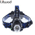 Z30 Headlight 2800lm XML-T6 CREE led headlamp zoom Head light head lamp zoomable  flashlight 500M headlamp  for 18650 Battery