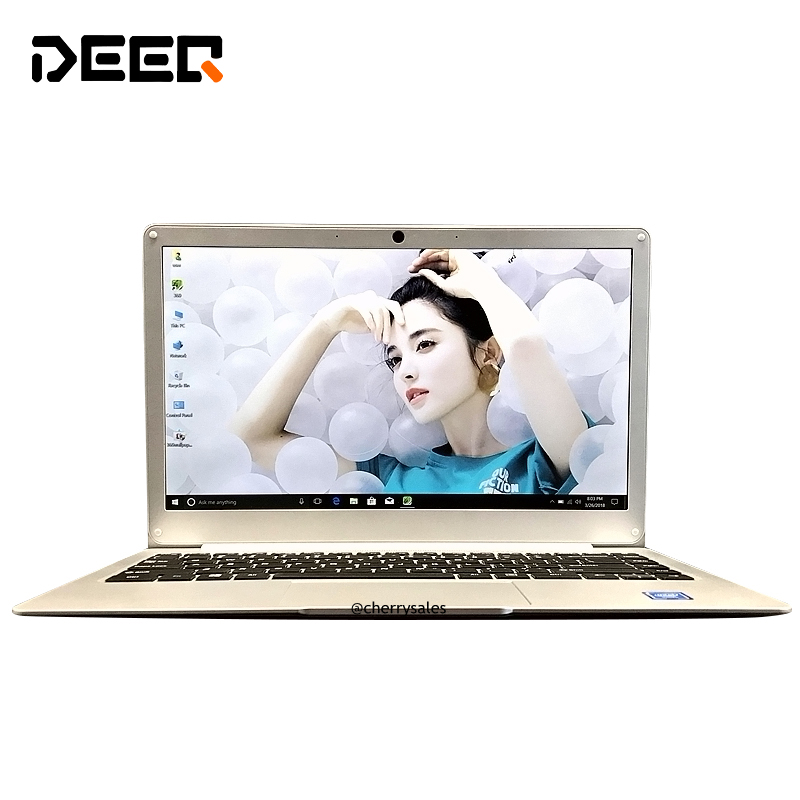 Laptop Windows 10 Intel Apollo Lake N3350 Dual Core 6GB RAM 64GB ROM 13.3 Inch M.2 SSD Port Ultrabook with Bluetooth WIFI Camera [hk stock] blackview p6000 6gb 64gb dual back cameras face