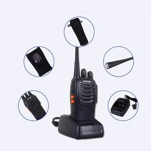 Image 5 - 2 個オリジナル Pofung BF 888S 2 双方向ラジオ局トランシーバードライバアマチュア無線キット Interphon インターホン baofeng 888