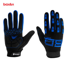BOODUN Cycling Gloves Full finger 2018 Cycle Bike Bicycle Gloves Gel Pad MTB Off Road Downhill Motorcycle Gloves Racing Gloves