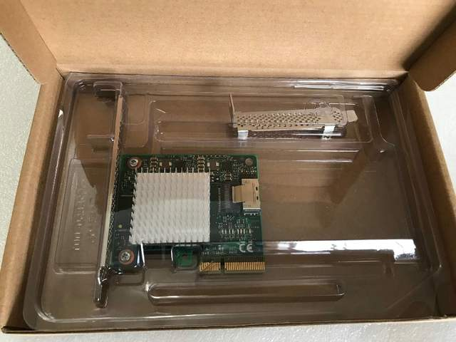 RaidStorage Avago LSI SAS 9211-4I LSISAS2004it 4 port NO-RAID HBA JBOD SATA  SFF8087 6Gb PCI-E 2 0 X4 Controller Card