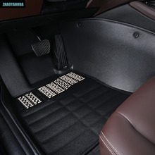 """ZHAOYANHUA Car floor mats for Mitsubishi Lancer Galant ASX Pajero sport V73 V93 5D car styling all weather carpet floor liner ""(China)"