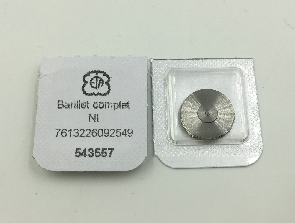 Original Complete Barrel With New Movement Mainspring 180/1 ETA 2824 2836 2834