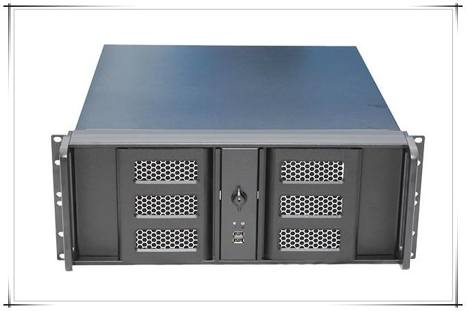 4U aluminum panel double door server industrial control cabinet 4U480L box 8 hard disk position monitoring 5208 73p8005 73p8017 300g 10k fc ds4300 server hard disk one year warranty