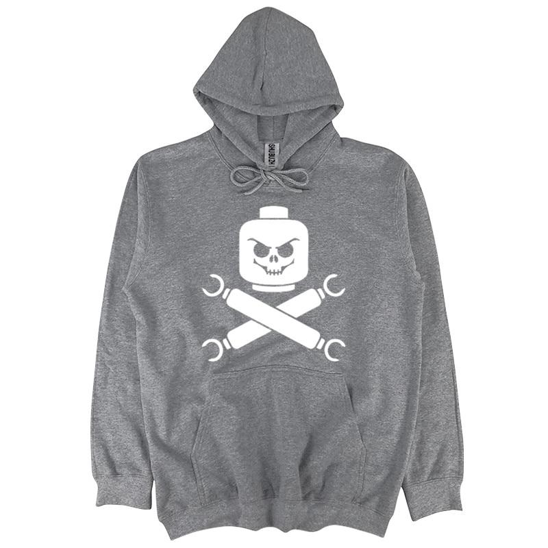 Pirate Shubuzhi Men Autumn Hoodie Fashion Hip-hop Hoody Casual Pattern Sweatshirt Online Shop Audacious Drop Shipping New Lego Skull And Cross Bones Men's Clothing