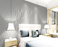 Beibehang Simple Modern Non Woven Wallpaper 3d Stereoscopic Video Wall Furniture Papel De Parede Papier Peint