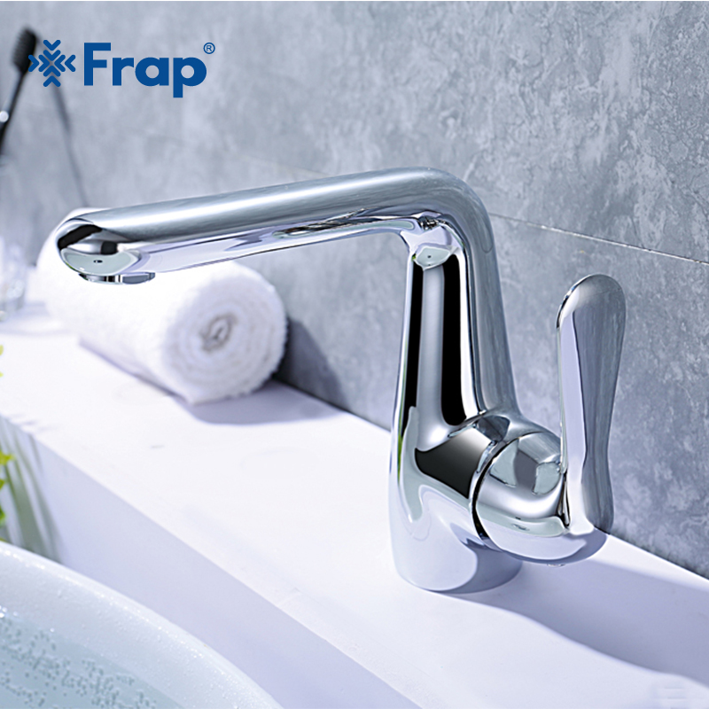 Frap new High quality Hot and cold water mixer switch Bathroom basin taps Bath sink Faucet Accessories Y10077