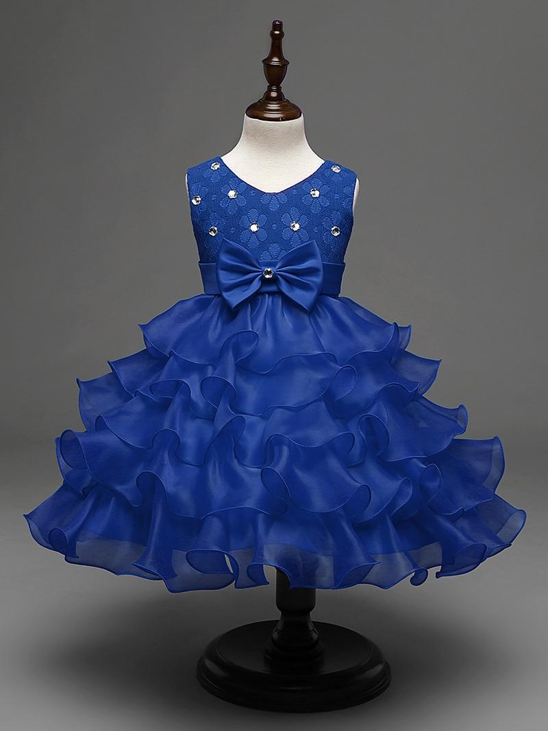 Popular Royal Blue Party Dresses for Toddler Girl-Buy Cheap Royal ...