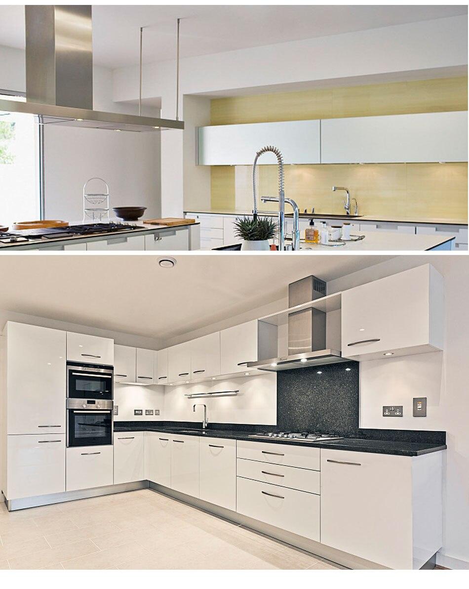 US $5.12 36% OFF|Under Cabinet Lights LED Bookshelf Lamp 3W 220V 230V 240V  Round Aluminum Kitchen Counter Light Cupboard Lamps Down Lighting-in Under  ...
