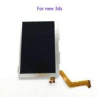 20 Pcs Para Nintendo NOVO 3DS Tela LCD Superior Usado Exibição original e nova Tela LCD de Substituição Para New3DS