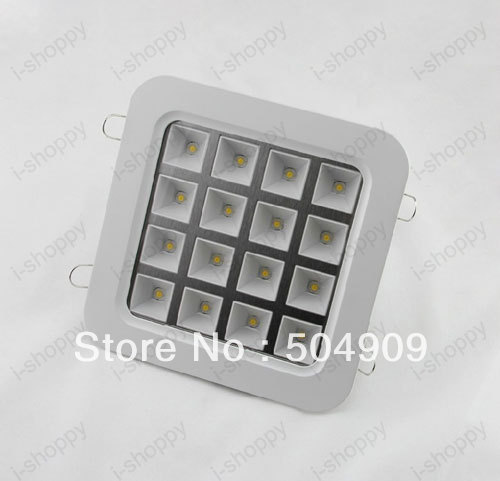 Dimmable 16W High power LED Recessed Ceiling Down Cabinet Light ...