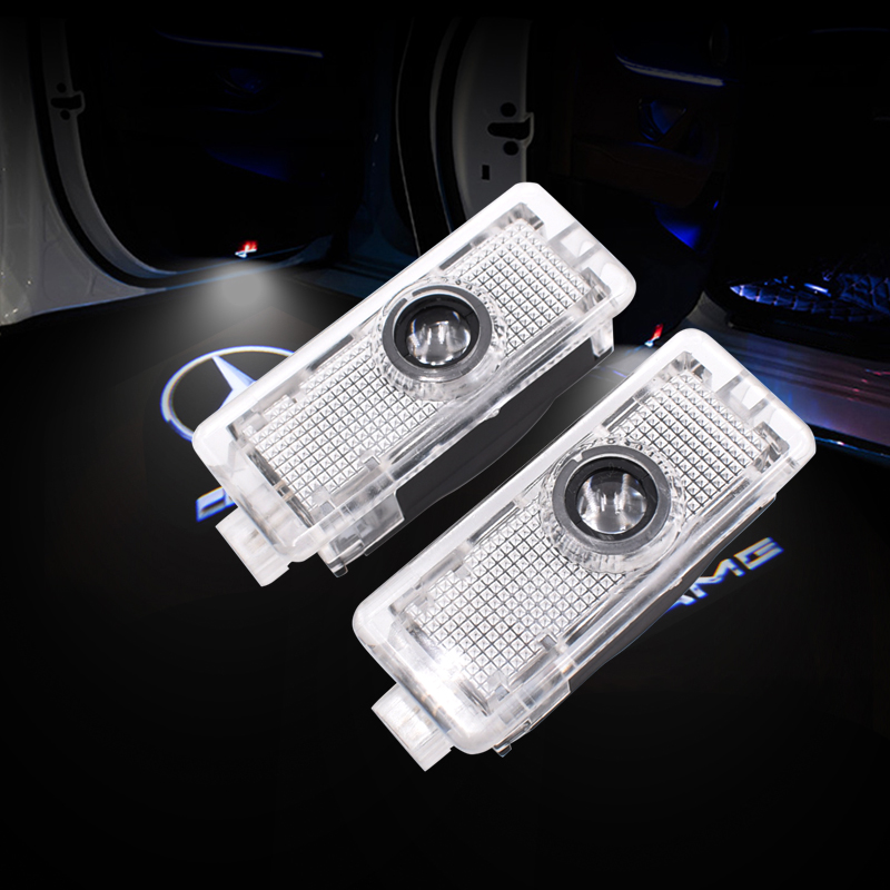 2pcs LED Car Door Welcome Light for Mercedes Benz CLA CLS c218 w218 a207 c207 c117 AMG Logo Laser Projector Ghost Shadow Light2pcs LED Car Door Welcome Light for Mercedes Benz CLA CLS c218 w218 a207 c207 c117 AMG Logo Laser Projector Ghost Shadow Light