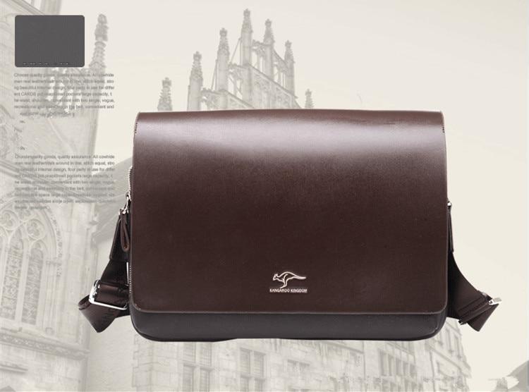 HTB1IqQsSwHqK1RjSZJnq6zNLpXa8 Designer Brand Kangaroo Briefcase Men Soft Leather Shoulder Travel Bag Business office Computer laptop bag Cover Messenger Bags