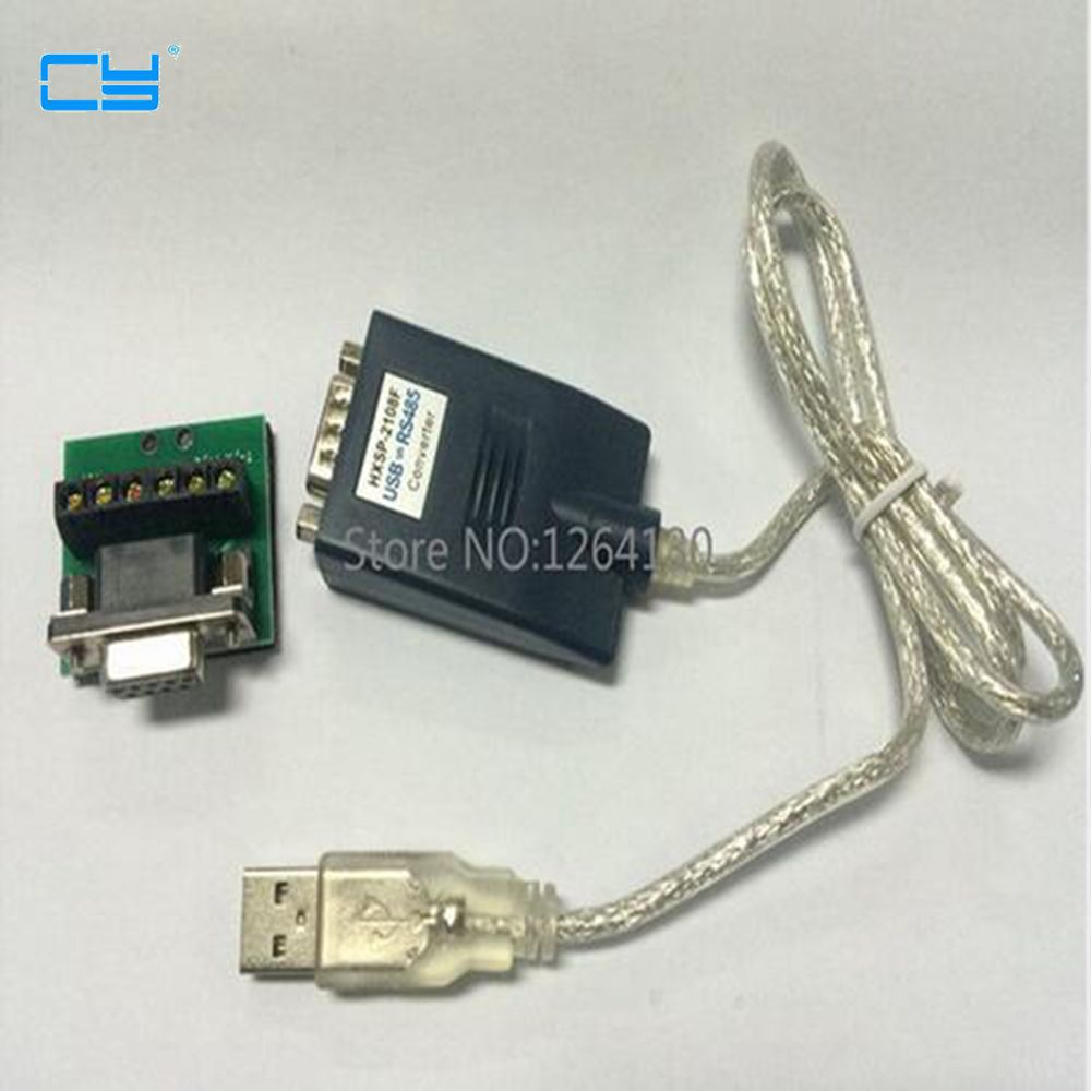 USB 2.0 to RS485 Converter Adapter Cable PL2303 Chip Free Shipping rs232 to rs485 active converter 232 to 485 converter with power db9 to rs485 converter rs485 adapter